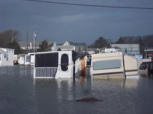 sandy floods mat