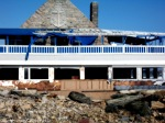 Narragansett, RI - The Coast Guard House defeats Sandy, although sustaining structural damage. (Photos Tracey C. O'Neill 2012)