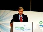 Sen. Sheldon Whitehouse addresses AWEA conference 2013. (photo Tracey C. O'Neill)