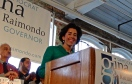 Raimondo 2014 Gubernatorial kickoff at Hope Artiste Village in January. (Photo Credit Tracey C. O'Neill)